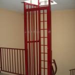 cage d'echelle d'accès